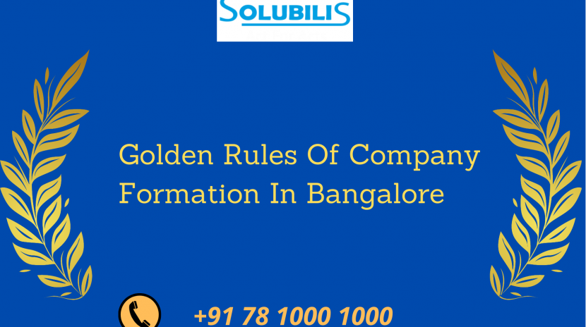 Company Formation In Bangalore